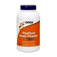 Now Foods Psyllium husk powder - 12 oz