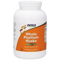 Now Foods whole psyllium husks - 12 oz
