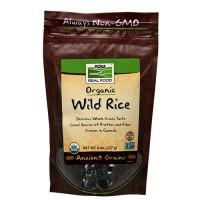 Now Foods real food organic wild rice - 8 oz