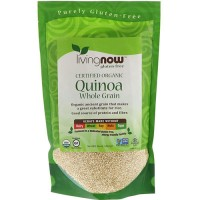 Now foods quinoa whole grain, Organic - 16 oz