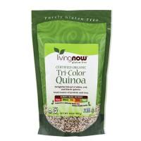 Now Foods gluten free certified organic tri-color quinoa - 14 oz