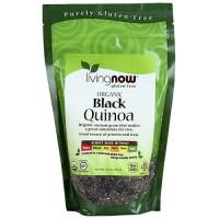 Now Foods gluten free certified organic black quinoa - 14 oz