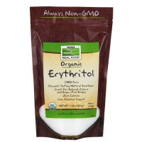 Now Foods real food organic erythritol naturally sweet - 16 oz