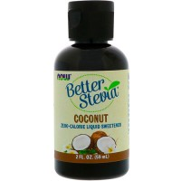 Now Foods betterstevia liquid zero-calorie liquid sweetener coconut - 2 oz