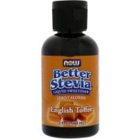 Now foods better stevia english tofee sweetner liquid - 2 oz
