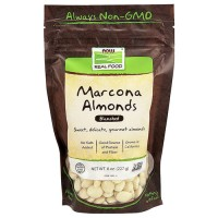 Now foods Marcona Almonds, Blanched - 8 oz