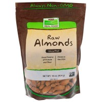 Now foods Raw Almonds - 16 oz