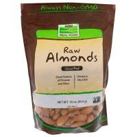 Now foods Raw Almonds - 16 oz