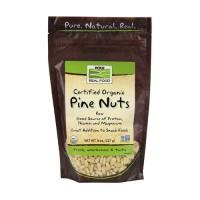 Nowfoods organic pine nuts, Raw - 8 oz