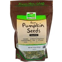 Now foods raw pumpkin seeds, unsalted - 16 oz