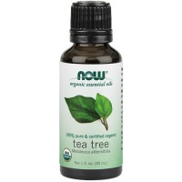 Nowfoods organic essential oils tea tree - 1 oz