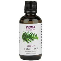 Now Foods 100 percent pure essential rosemary oil - 2 oz