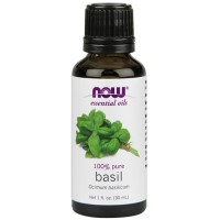 Now Foods 100 percent pure basil oil - 1 oz