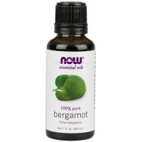 Now Foods 100 percent pure bergamot - 1 oz