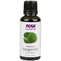 Now Foods 100 percent pure bergamot - 1 oz
