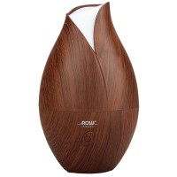 Now Foods ultrasonic faux wood essential oil diffuser - 1 ea