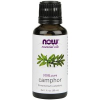 Now Foods 100 percent pure camphour - 1 oz