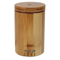 Now Foods ultrasonic real bamboo essential oil diffuser - 1 ea
