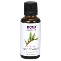Now Foods 100 percent pure cedarwood oil - 1 oz