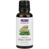 Now Foods 100 percent pure atlas cedar oil - 1 oz