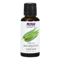 Now Foods 100 percent pure eucalyptus radiata oil - 1 oz