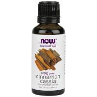 Now Foods 100 percent pure cinnamon cassia oil - 1 oz