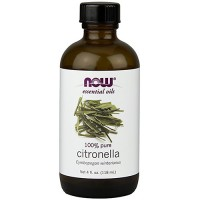 Now Foods 100 percent pure citronella oil - 4 oz