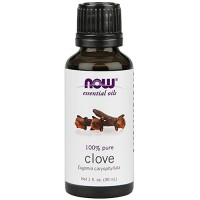 Now Foods 100 percent pure clove oil - 1 oz