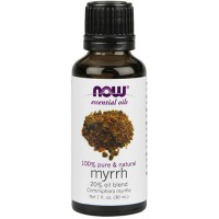 Now Foods 100 percent pure and natural myrrh blend oil - 1 oz