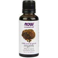 Now Foods 100 percent pure and natural myrrh blend oil - 1 oz