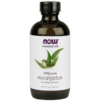 Now Foods 100 percent pure eucalyptus oil - 4 oz