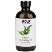 Now Foods 100 percent pure eucalyptus oil - 4 oz