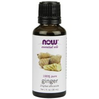 Now Foods 100 percent pure ginger oil - 1 oz