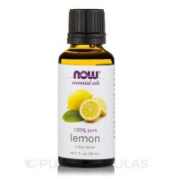 Now Foods pure lemon essential oil - 1 oz