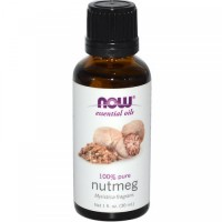Now Foods pure nutmeg essential oil - 1 oz