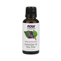 Nowfoods essential oils, Lavender and tea tree - 1 oz
