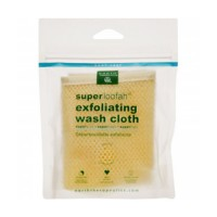 Earth therapeutics loofah  super  exfoliating  bath mitt - 1 ea