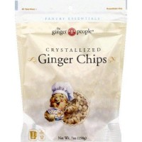 Ginger People Ginger Chips - 7 oz,12 pack