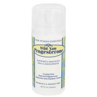 Wise essentials wild yam progesterone cream, fragrance free - 3 oz