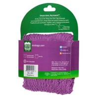 Eco bags products market collection  string bag long handle raspberry - 1 ea