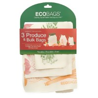 ECOBAGS Market Collection Set of 3 Produce and Bulk Bags - 10 ea, 3 pack
