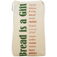 Eco bags products organic printed reusable bread bag - 1 ea