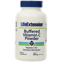 LifeExtension buffered vitamin C powder - 16 oz