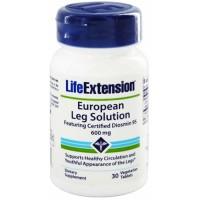LifeExtension European leg solution vegetarian capsules - 30 ea