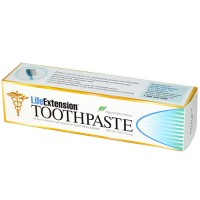 LifeExtension toothpaste, natural mint favor - 4 oz