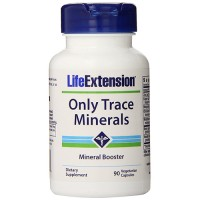 LifeExtension only trace minerals vegetarian capsules - 90 ea