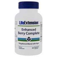 LifeExtension Enhanced berry complete vegetarian capsules - 60 ea