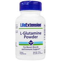 LifeExtension L Glutamine powder - 3.53 oz