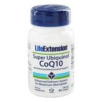 LifeExtension super ubiquinol coq10 100 mg softgels - 100 ea