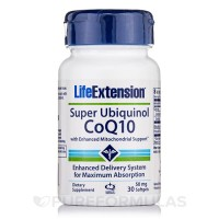 LifeExtension super ubiquinol coq10 50 mg softgels - 30 ea
